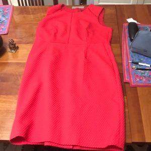 J. Crew red dress